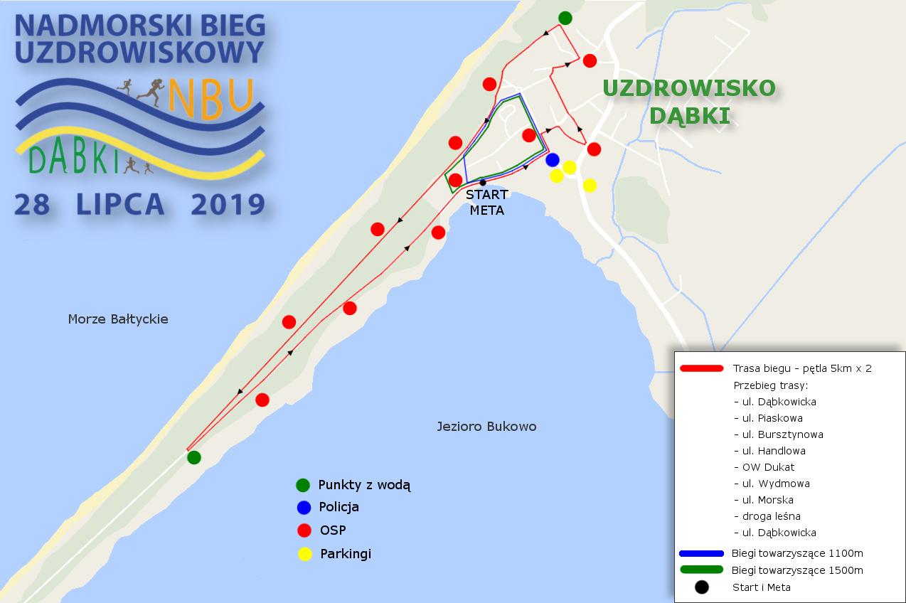 Trasa biegu 2017