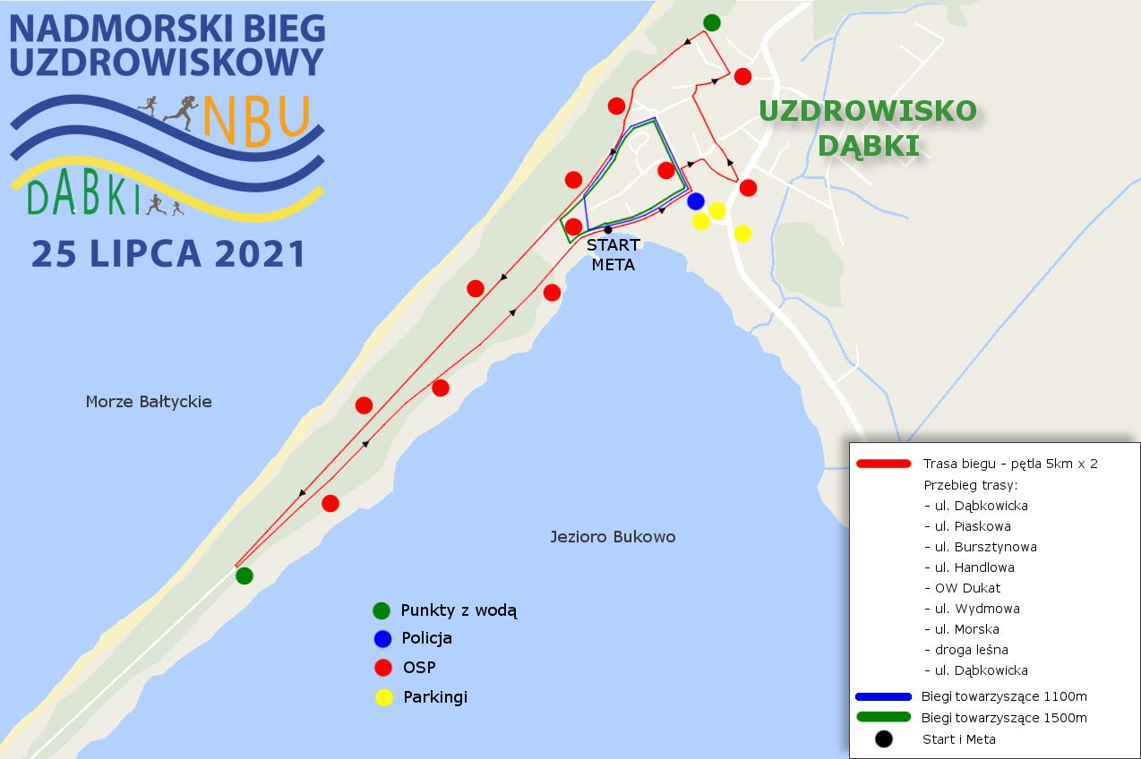 Trasa biegu 2021