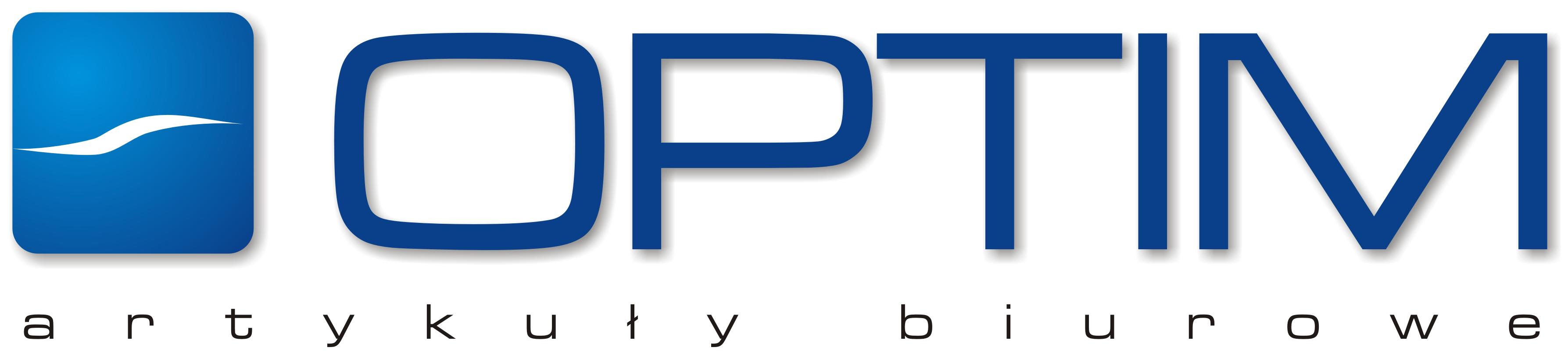Logo OPTIM - Materiały biurowe i papiernicze – Miastko